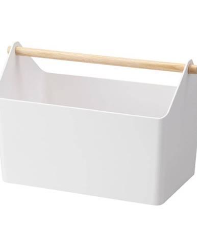 Biely úložný box YAMAZAKI Storage