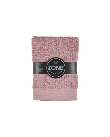 Ružový uterák Zone Classic, 50×70cm