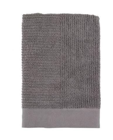 Sivá osuška Zone One, 70x140cm