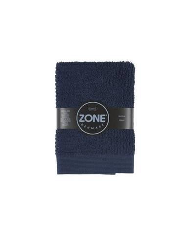 Tmavomodrý uterák Zone Classic, 70x50cm