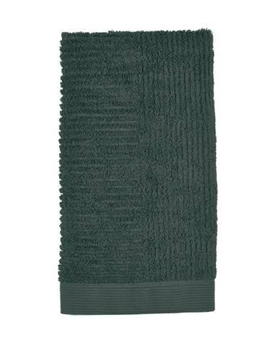Tmavozelený uterák Zone Classic, 50×100cm