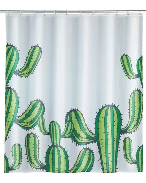 Wenko Sprchový záves Wenko Cactus, 180×200 cm