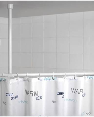 Biela stropná opora na sprchový záves Wenko