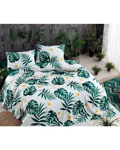 Ľahká prešívaná prikrývka cez posteľ Ramido Jungle, 140×200 cm