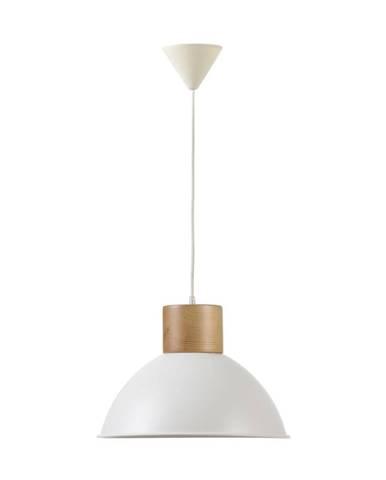 Biele závesné svietidlo Really Nice Things Madera