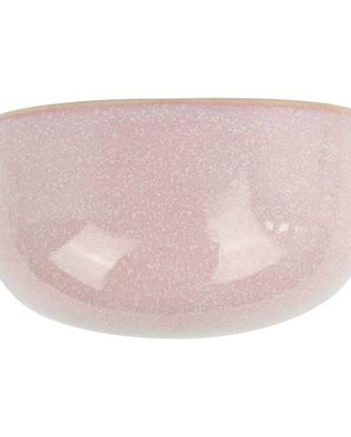 Ružový nástenný kvetináč PT LIVING Oval, 20x10,8cm