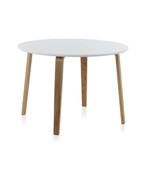 Geese Biely okrúhly jedálenský stôl Geese, ⌀ 110 cm