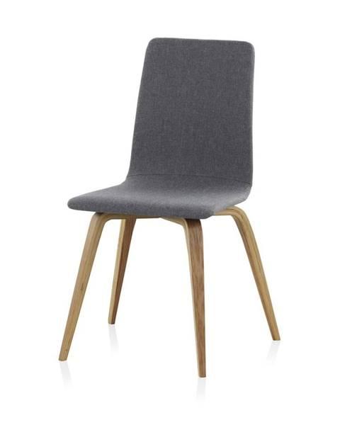 Geese Drevená čalúnená jedálenská stolička Geese