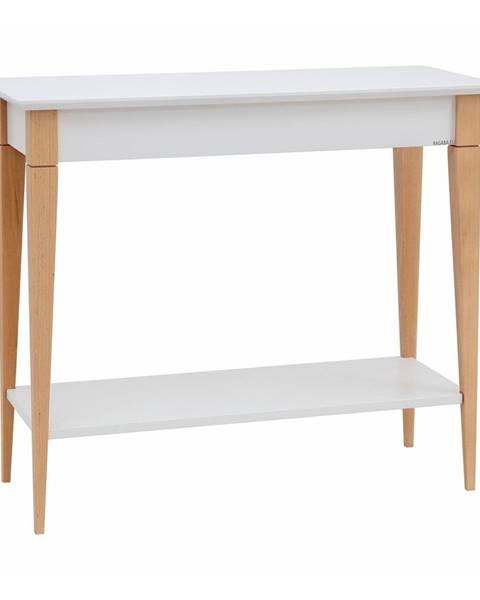 Ragaba Biely konzolový stolík Ragaba Mimo, šírka 85 cm