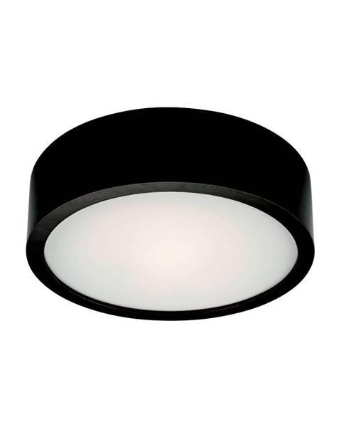 LAMKUR Čierne kruhové stropné svietidlo Lamkur Plafond, ø 27 cm
