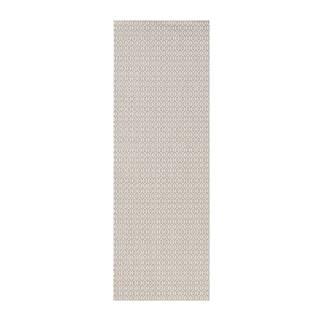 Sivý vonkajší koberec Bougari Coin, 80x200cm