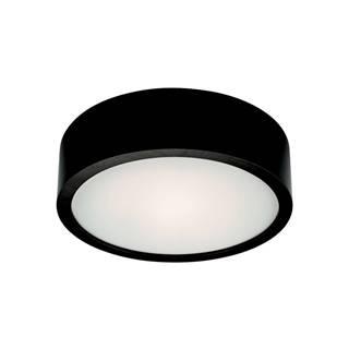 Čierne kruhové stropné svietidlo Lamkur Plafond, ø 27 cm