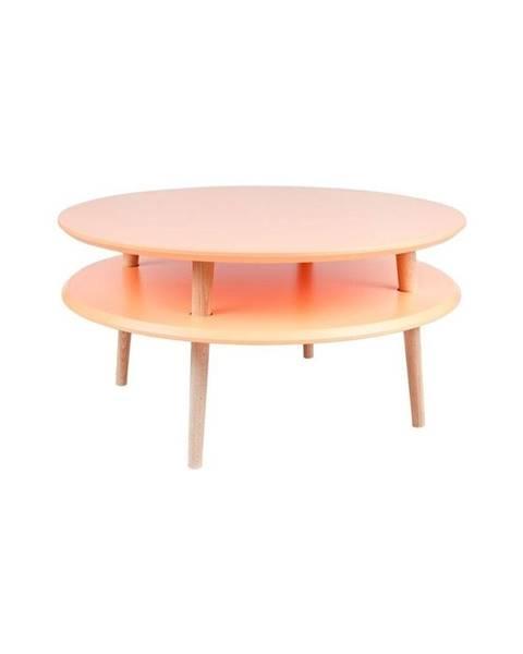 Ragaba Oranžový konferenčný stolík Ragaba UFO, ⌀70 cm