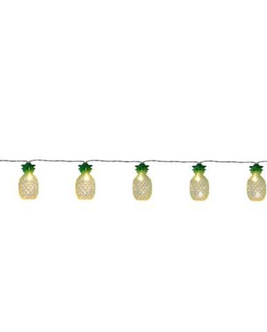 Svetelná LED reťaz Best Season Party Pineapple, 10 svetielok