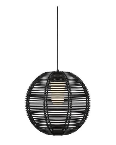 Čierne závesné svietidlo Markslöjd Sage Pendant 1l