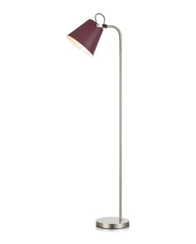 Vínovočervená stojacia lampa Markslöjd Tribe