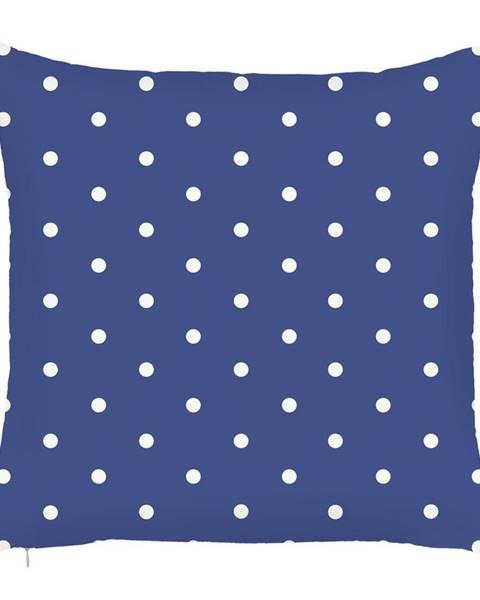 Apolena Modrá obliečka na vankúš Mike&Co.NEWYORK Little Dots, 43 × 43 cm