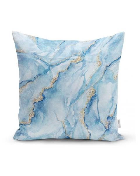 Minimalist Cushion Covers Obliečka na vankúš Minimalist Cushion Covers Aquatic Marble, 45 x 45 cm