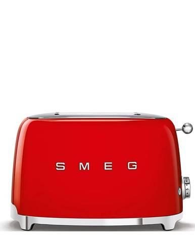 Červený sendvičovač SMEG