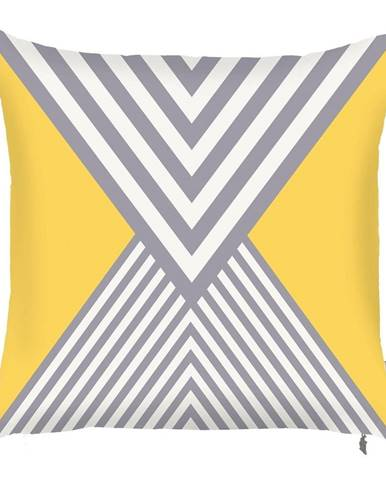 Obliečka na vankúš Mike&Co.NEWYORK Trianglis, 43 x 43 cm