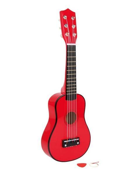 Legler Červená gitara na hranie Legler