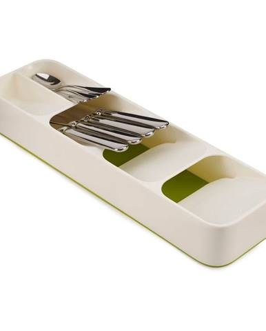 Bielo-zelený kompaktný príborník Josoph Josoph DrawerStore