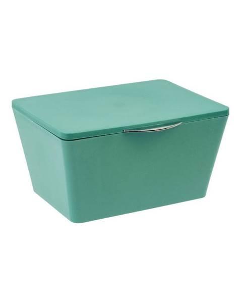 Wenko Zelený úložný box do kúpeľne Wenko Brasil