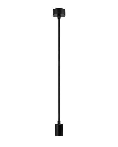Čierne závesné svietidlo bez tienidla Bulb Attack Cero