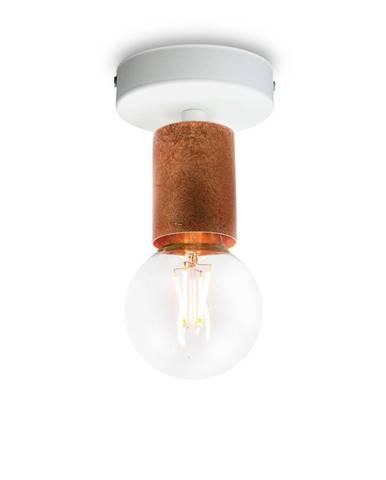 Stropné svietidlo v medenej farbe Bulb Attack Cero