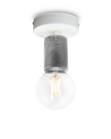 Stropné svietidlo v striebornej farbe Bulb Attack Cero