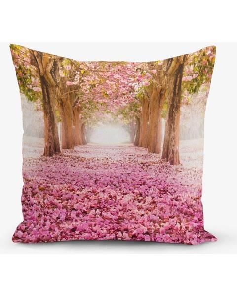 Minimalist Cushion Covers Obliečka na vaknúš s prímesou bavlny Minimalist Cushion Covers Pinky, 45 × 45 cm