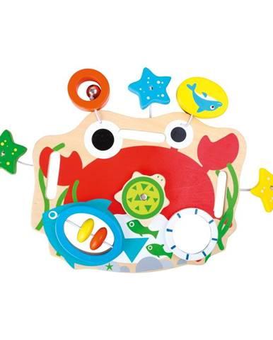 Drevená hračka pre rozvoj jemnej motoriky Legler Board