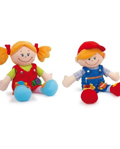 Sada 2 bábik Legler Chiara&Massimo
