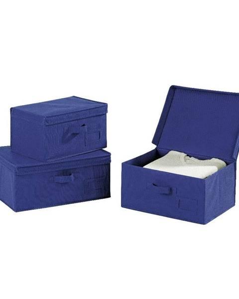 Wenko Modrý úložný box Wenko Ocean, dĺžka34cm