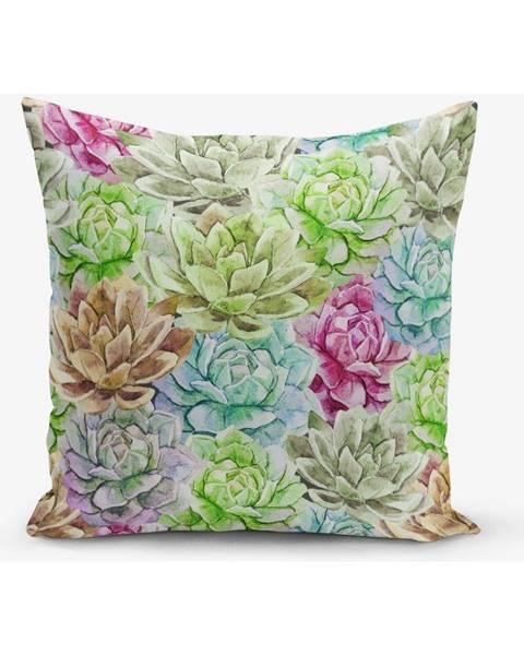 Minimalist Cushion Covers Obliečka na vankúš s prímesou bavlny Minimalist Cushion Covers Lily, 45×45 cm