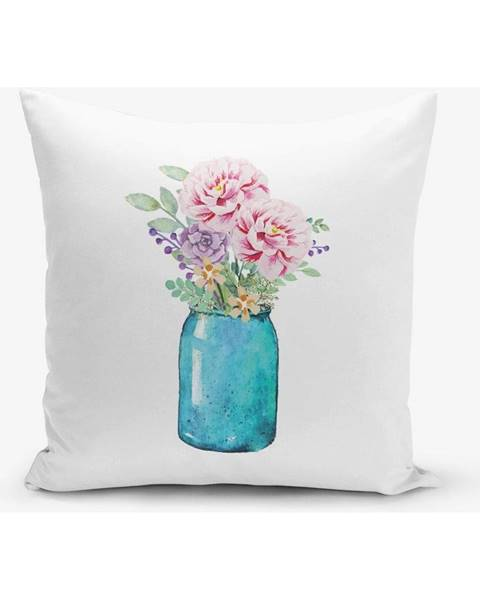 Minimalist Cushion Covers Obliečka na vankúš s prímesou bavlny Minimalist Cushion Covers Vazo, 45×45 cm
