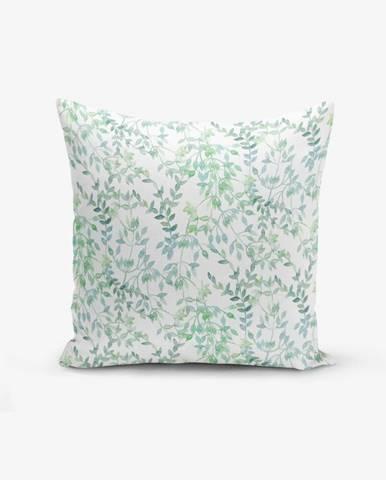 Obliečka na vankúš Minimalist Cushion Covers Modern Leaf, 45 × 45 cm