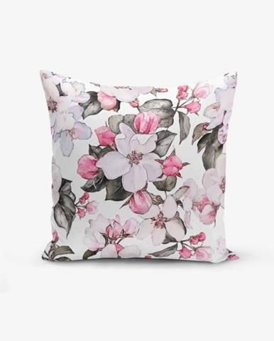 Obliečka na vankúš Minimalist Cushion Covers Toplu Kavaniçe Flower,45×45cm