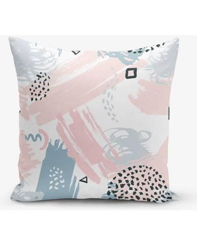 Obliečka na vankúš s prímesou bavlny Minimalist Cushion Covers Boyama, 45×45 cm