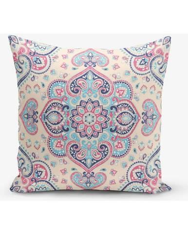 Obliečka na vankúš s prímesou bavlny Minimalist Cushion Covers Damaq, 45×45 cm