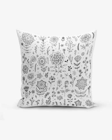 Obliečka na vankúš s prímesou bavlny Minimalist Cushion Covers Flower, 45×45cm