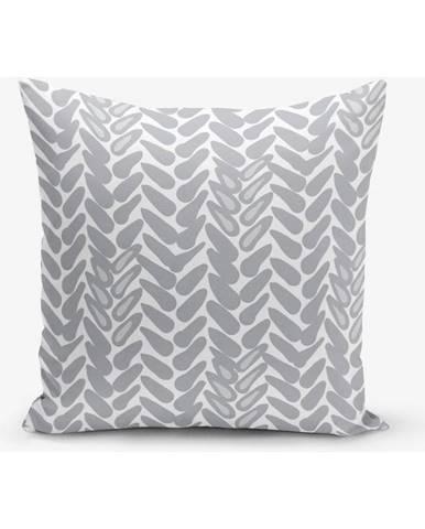 Obliečka na vankúš s prímesou bavlny Minimalist Cushion Covers Metrica, 45×45 cm