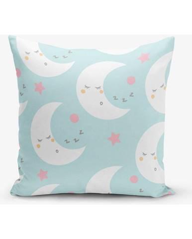 Obliečka na vankúš s prímesou bavlny Minimalist Cushion Covers Moon, 45×45 cm