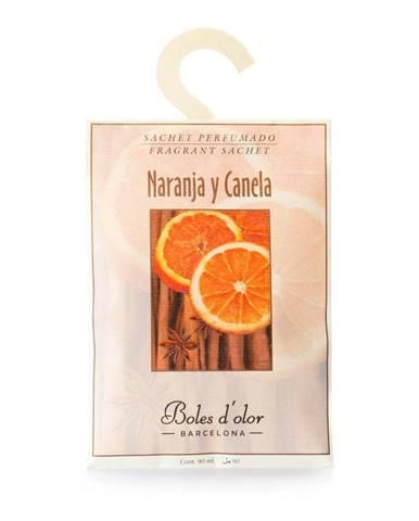 Vonné vrecúško s vôňou pomaranča a škorice Ego Dekor Naranja y Canela