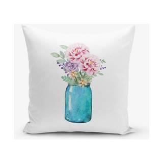 Obliečka na vankúš s prímesou bavlny Minimalist Cushion Covers Vazo, 45×45 cm