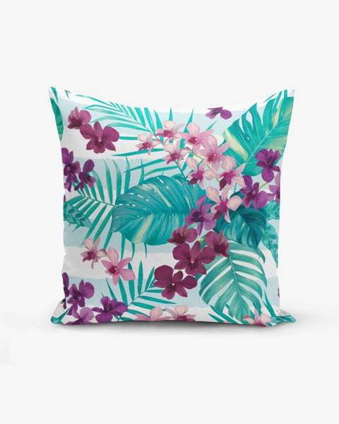 Minimalist Cushion Covers Obliečka na vankúš Minimalist Cushion Covers Lilac Flower, 45 × 45 cm