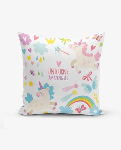 Obliečka na vankúš s prímesou bavlny Minimalist Cushion Covers Unicorn Child, 45×45 cm