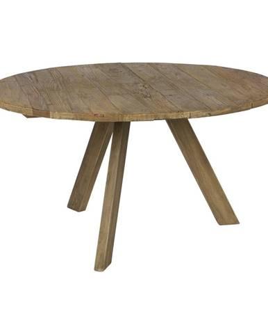 Jedálenský stôl z brestového dreva BePureHome Tondo, ⌀140cm
