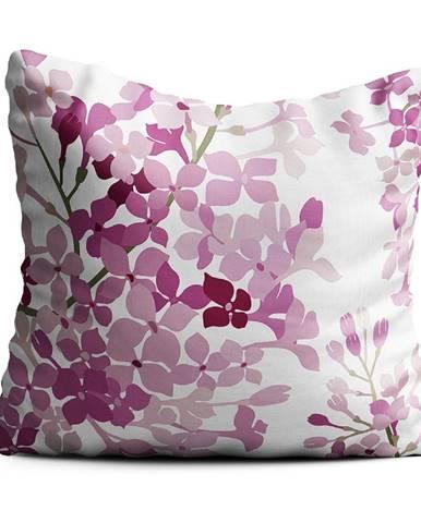 Růžový polštář Oyo home Valeria, 40x40cm