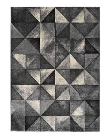 Sivý koberec Universal Delta, 125 x 67 cm